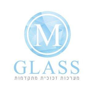 לוגו M GLASS מערכות זכוכית מתקדמות