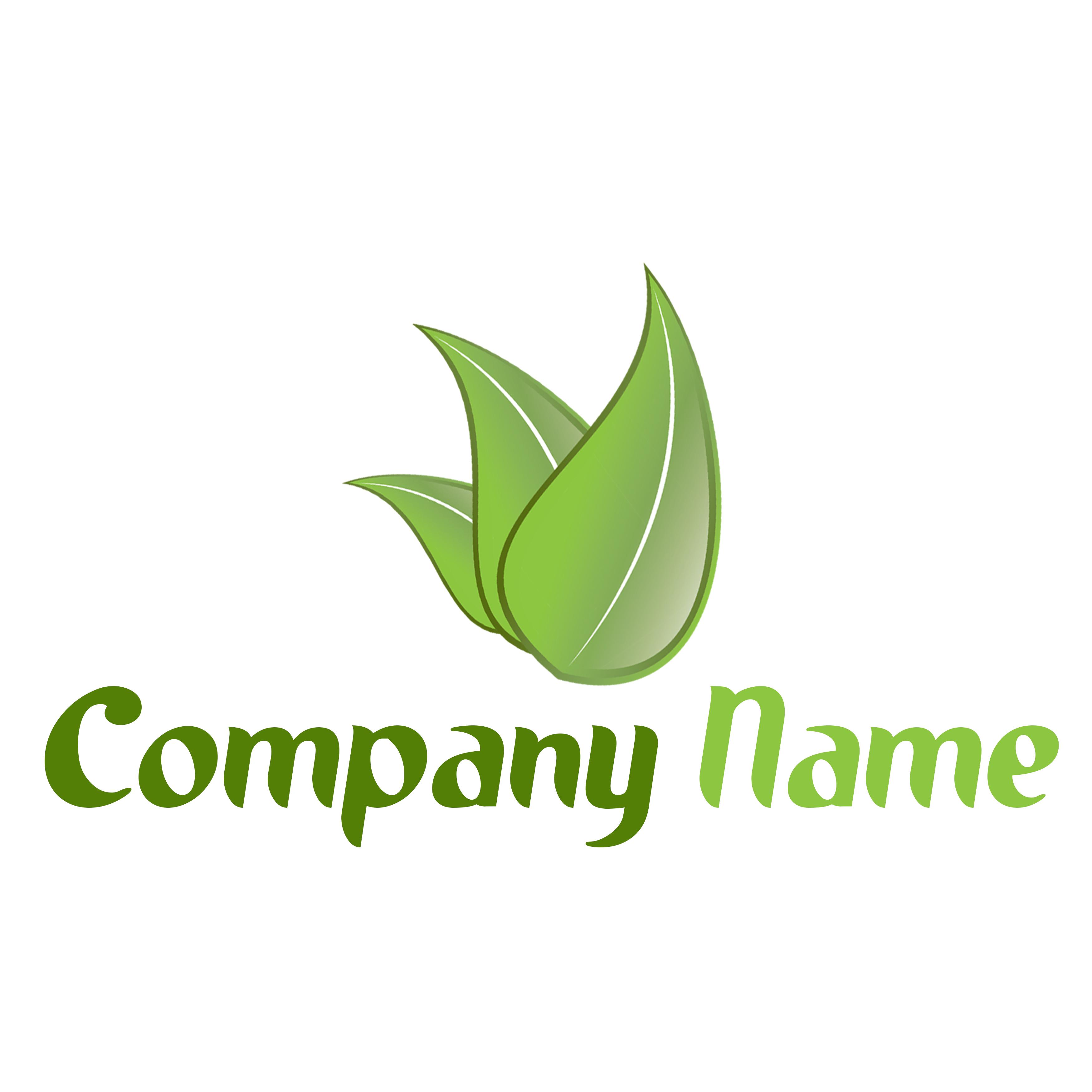 לוגו עלה ירוק | GreenLeaf