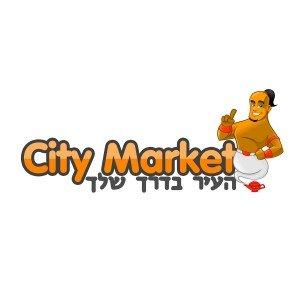 לוגו CITY MARKET העיר בדרך שלך