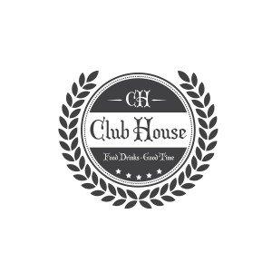 עיצוב לוגו מסעדות Cloub House