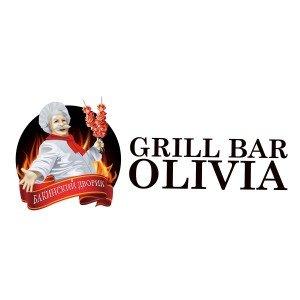 לוגו למסעדה Grill bar Olivia