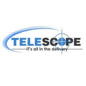 לוגו לחברת שליחויות Telescope