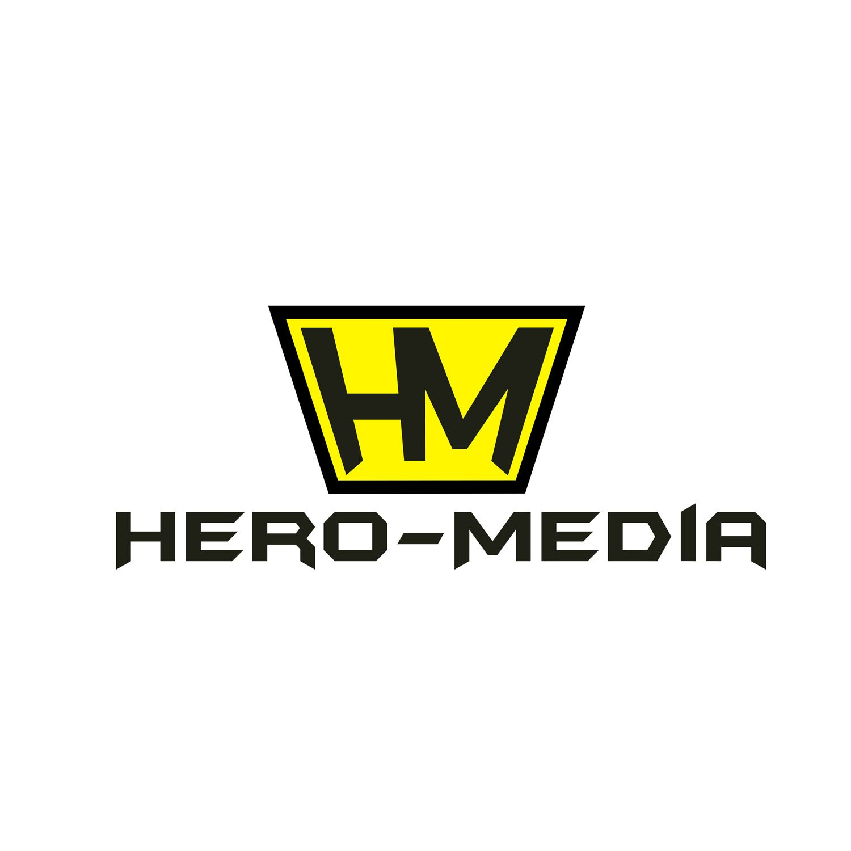 לוגו לחברת מדיה HERO MEDIA