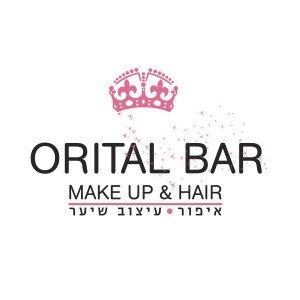 לוגו מאפרת ומעצבת שיער Orital Bar