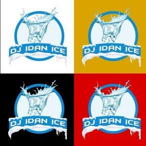 עיצוב לוגו די ג'יי עידן אייס