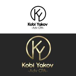 """עיצוב לוגו לעו""""ד KOBI YAKOV"""
