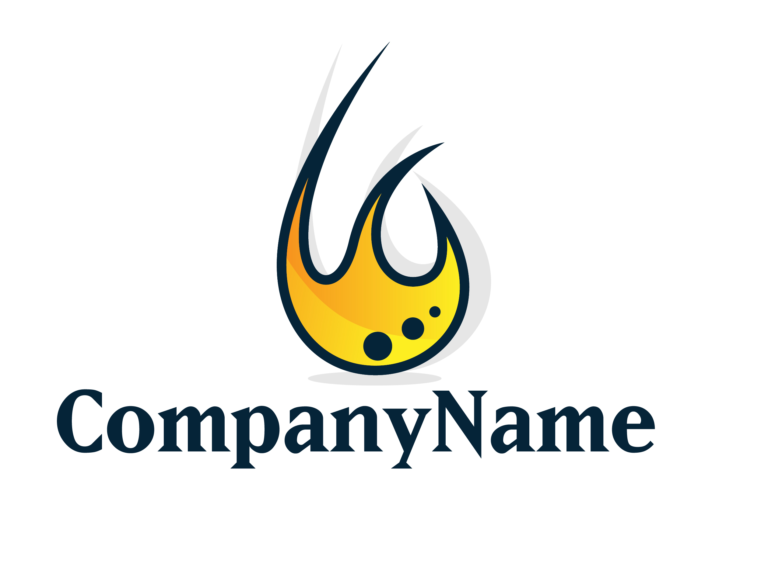 On Flame logo