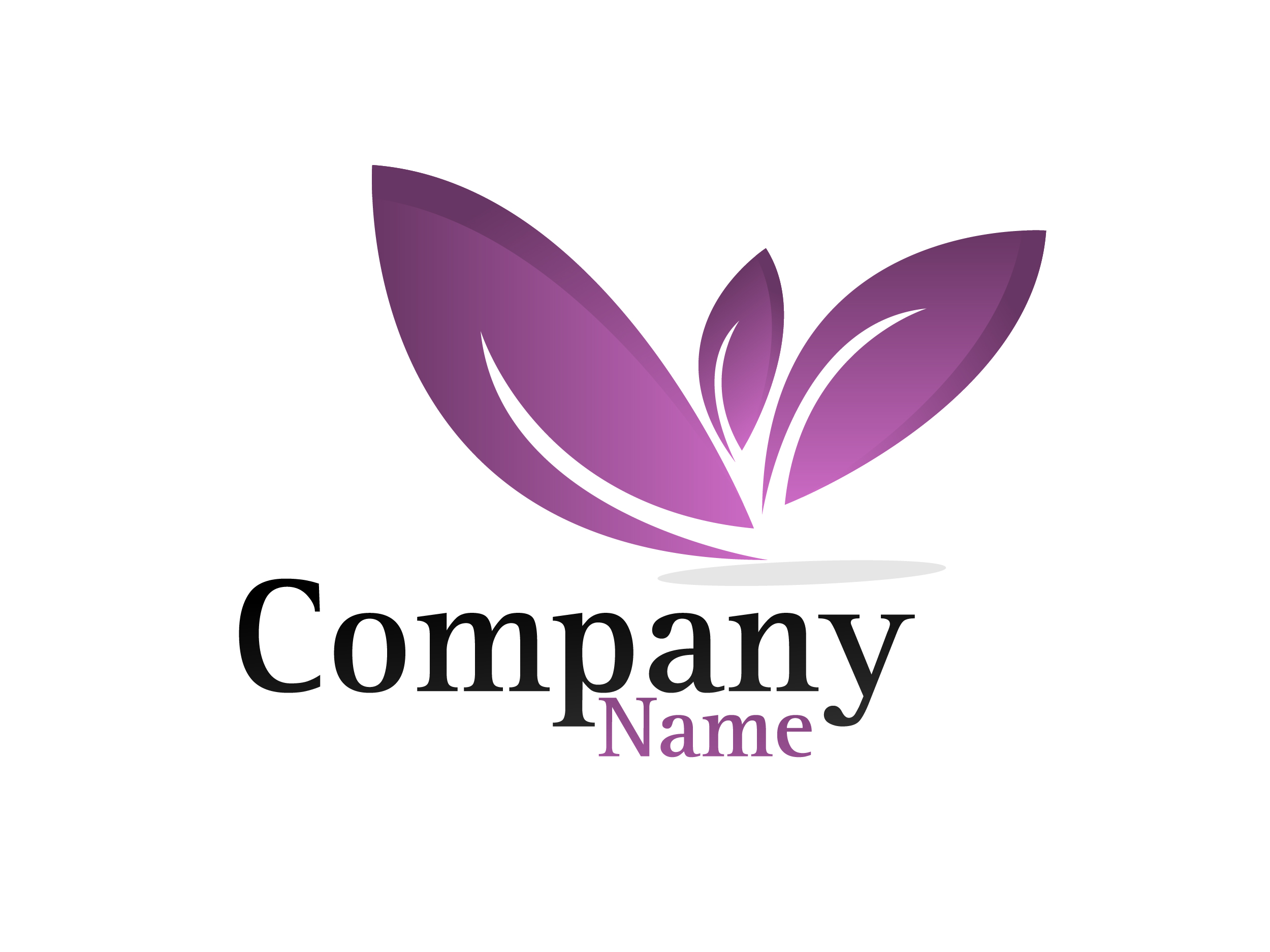 Purple Leaf logo