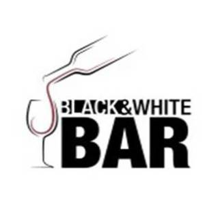 לוגו לבר Black&white Bar