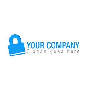 The lock logo
