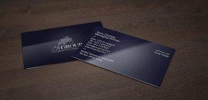 כרטיסי ביקור בצבע אחד