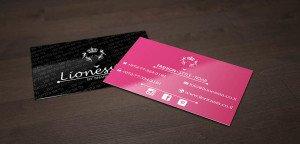 כרטיס מעוצב לעסקים