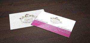 עיצוב כרטיס ביקור לעסק קטן