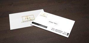 כרטיסי ביקור לדוגמא