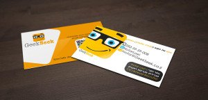 כרטיס ביקור לחברת סטארט-אפ