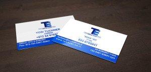כרטיסי ביקור לעסק פרטי