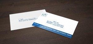 כרטיס ביקור בגודל סטנדרטי