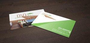 כרטיסי ביקור עבודות עץ