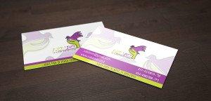 הכנת כרטיסי ביקור