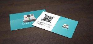 כרטיסי ביקור עם קוד אישי