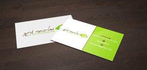 כרטיסי ביקור למטפלים