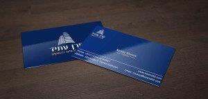 כרטיס ביקור לחברת השקעות