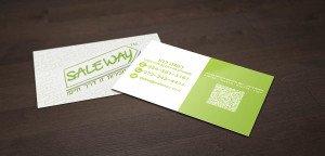 כרטיס ביקור לסוכני מכירות