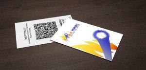 כרטיס ביקור בר-קוד