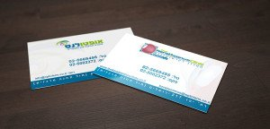 עיצוב כרטיסי ביקור מיוחדים