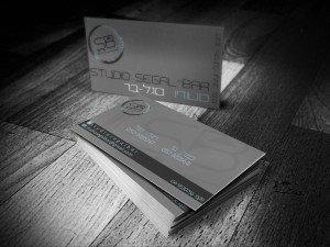 כרטיסי ביקור אפור