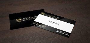 כרטיסי ביקור שחור לבן