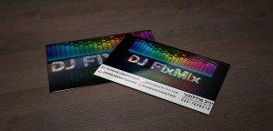 כרטיס ביקור ל DJ