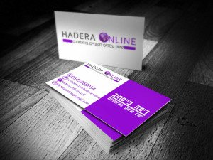 design business card online